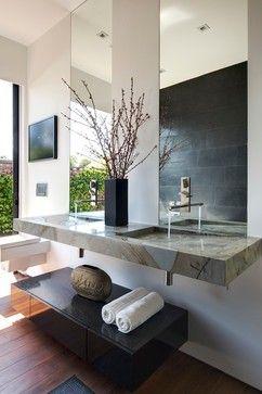 Tuxedo contemporary bathroom