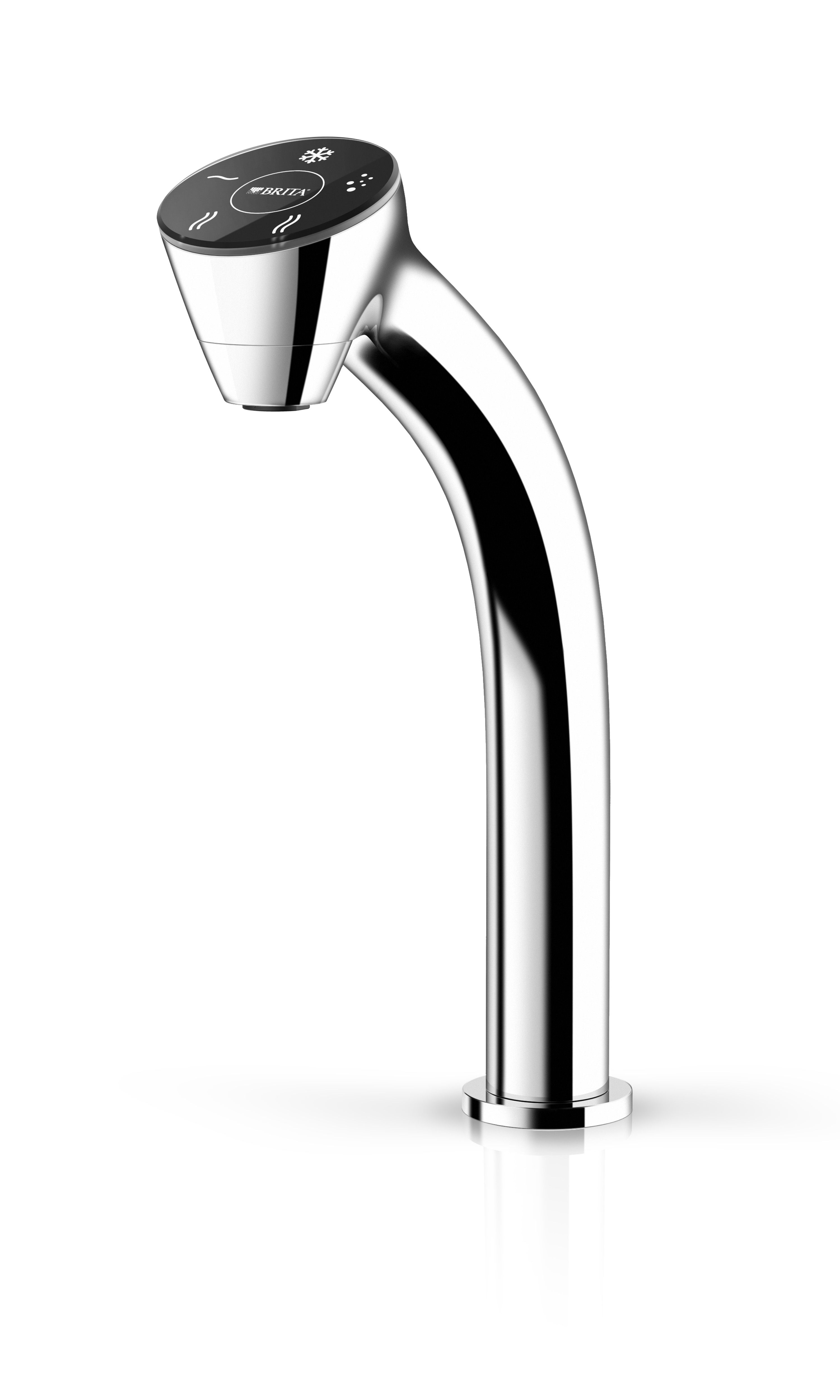 faucet and open with running flow brita faucets water bathroom