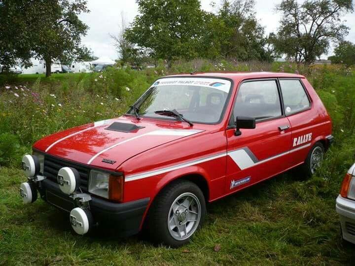 1984 talbot samba rallye classic garage pinterest for Garage peugeot poissy