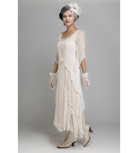Great Gatsby Party Dress In Ivory By Nataya In 2019
