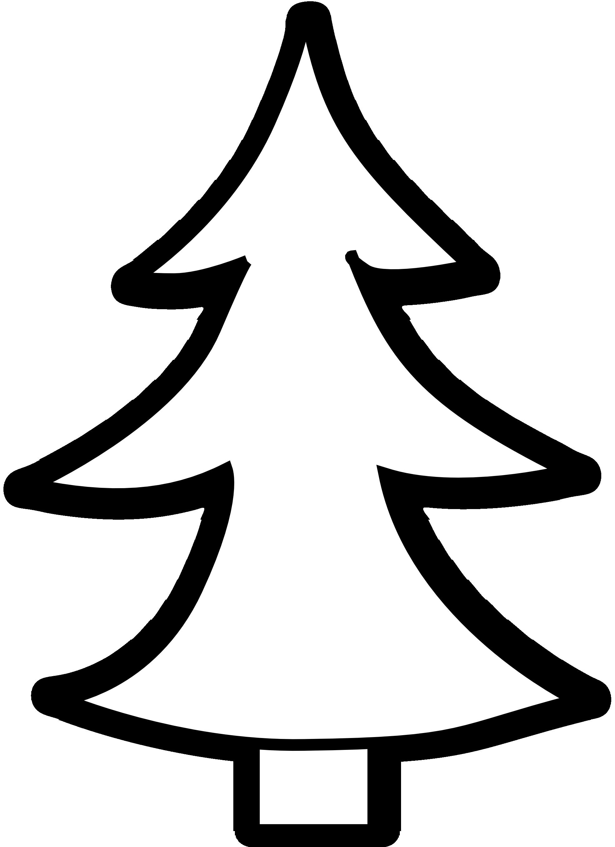 Pine tree clipart black Clipart Panda Free Clipart