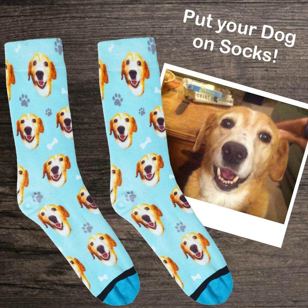 Custom dog socks put your dog on socks dog mom gifts