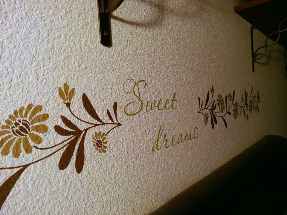 LOVE THIS Vinyl Decal Bedroom Uppercase Living Bedroom - Vinyl decals for textured walls