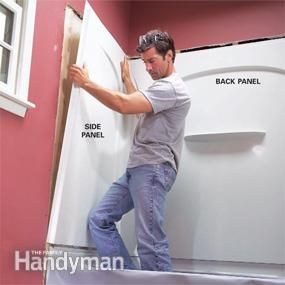 Install an Acrylic Tub and Tub Surround | The family handyman ...