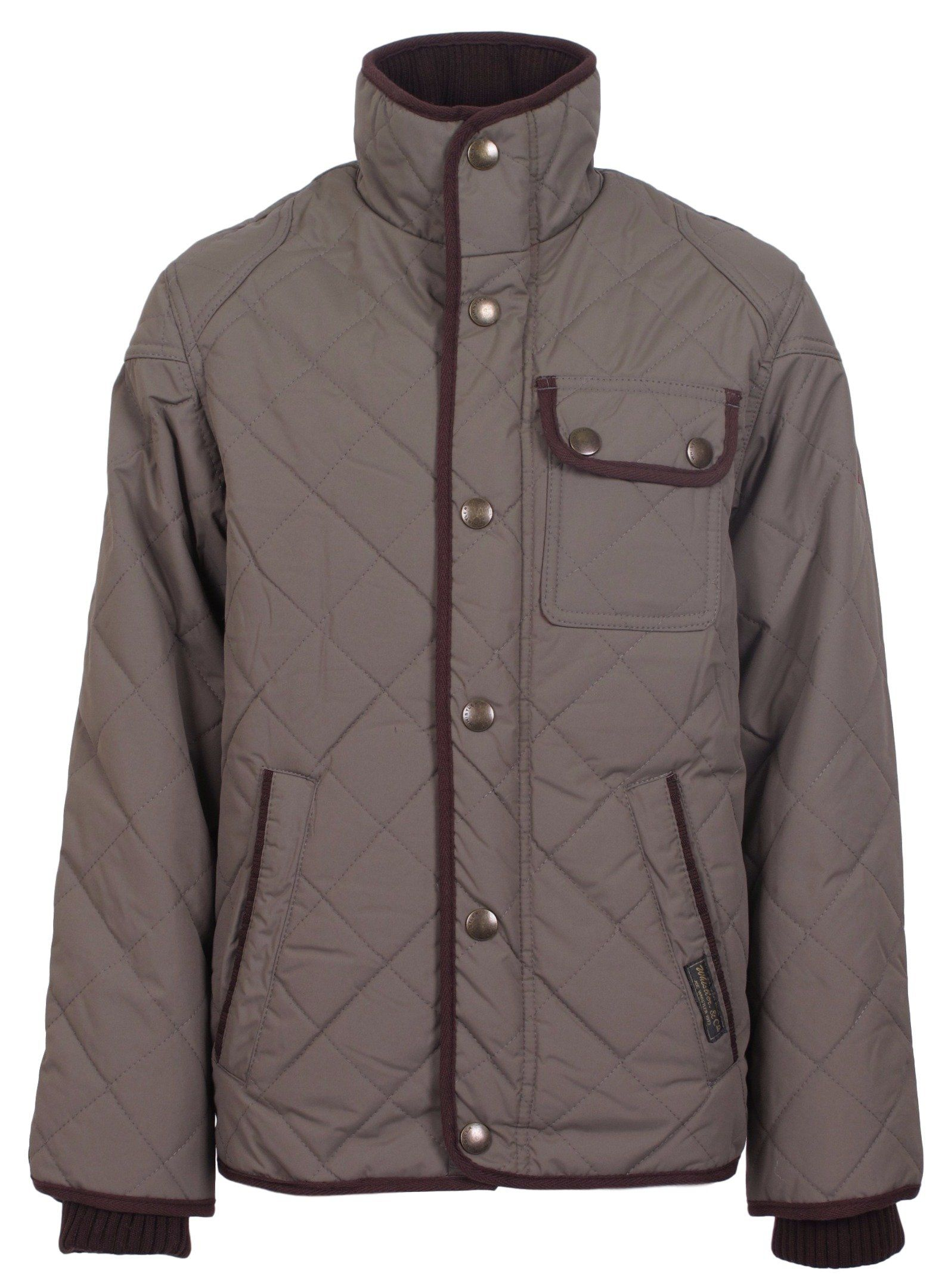 d32d333d0085 J. Whistler Boys Marco Diamond Quilted Winter Coat Insulated Jacket ...