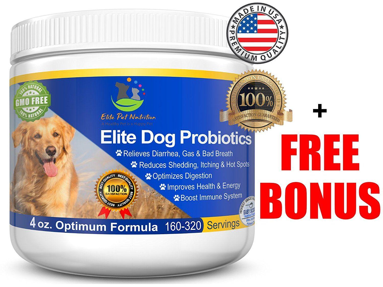 Advanced Probiotic For Dogs Elite Dog Probiotics Powder By Elite