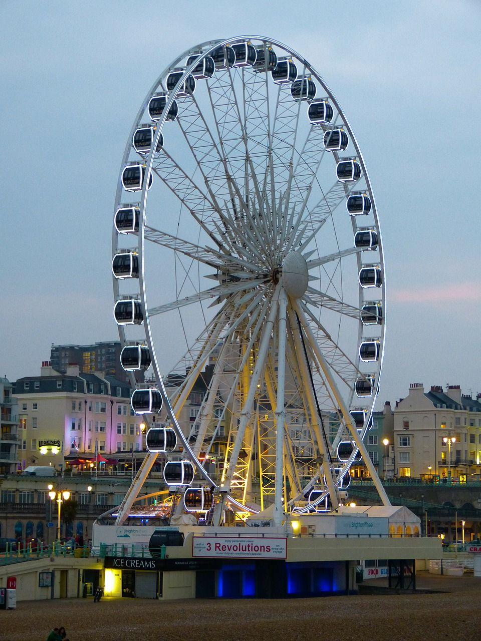 England, Ferris Wheel, Brighton, England, Sussex england