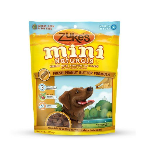 Zuke S Mini Naturals Dog Treats Fresh Peanut Butter Recipe 6 Ounce For Only 4 97 Natural Dog Treats Dog Treats Peanut Butter Dog Treats