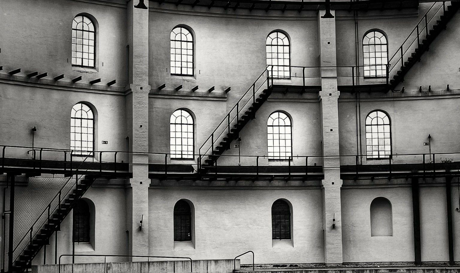 Leipzig Fotografie leipzig panometer black white photography sw fotografie pepe ro