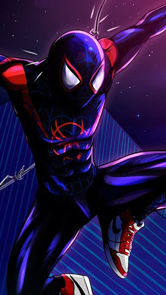 Miles Morales, SpiderMan Into the SpiderVerse, 4K