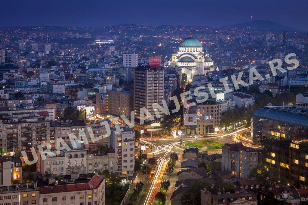 Slike I Posteri Beograda Digitalna štampa Na Platnu