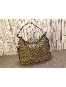 c575cb037f979a Gucci 326514 Miss GG Original GG Canvas Hobo Bag | Fabulous Handbags ...