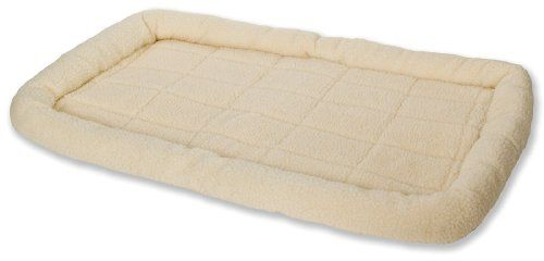 Little Giant Farm & Ag Miller Manufacturing 152266 X-Large Cream Fleece Dog Bed « DogSiteWorld-Store