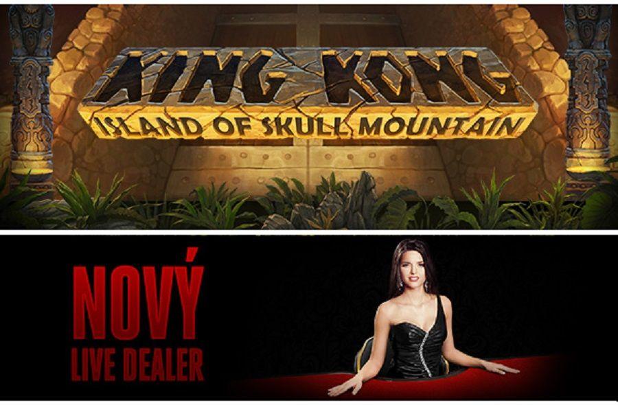 Nová hra King Kong, Island of Skull Mountain a Nový Live Dealer - http://www.hracie-automaty.com/novinky/nova-hra-king-kong-island-of-skull-mountain-a-novy-live-dealer