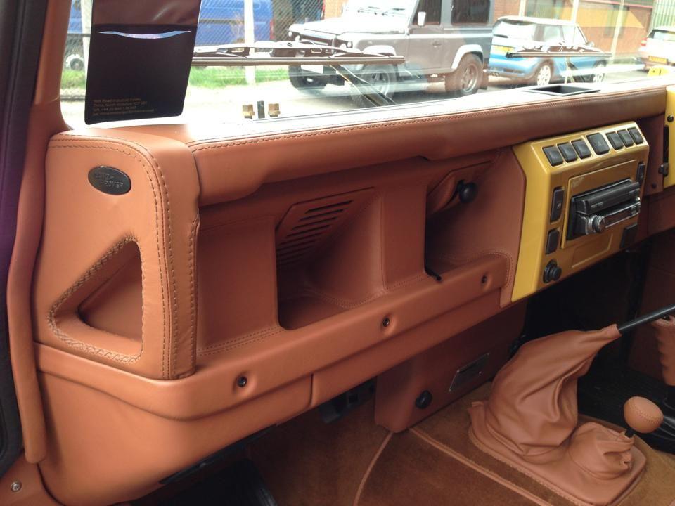 Twisted Performance Td5 Retro Defender Dashboard Amazing Craftsmanship Karavanlar Araba Spor Arabalar