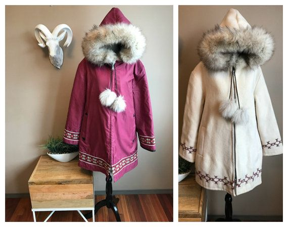 Coat Parka Winter Fur Coats, What Are Eskimo Coats Made Of