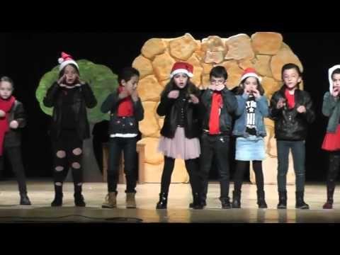 Video de villancico navidad rock