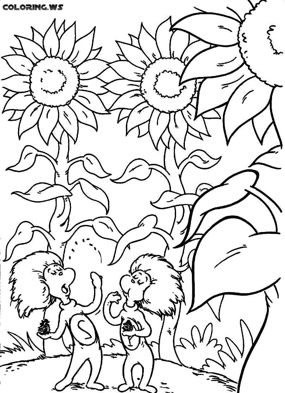 Dr Seuss 03 | 934 | Dr Seuss Coloring Pages | Dr Seuss Coloring ...