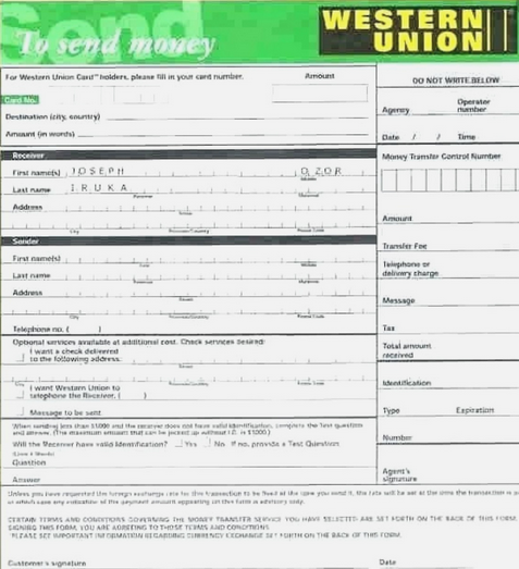 WESTERN UNION 2020 SOFTWARE AND ACTIVATION CODE. in 2020