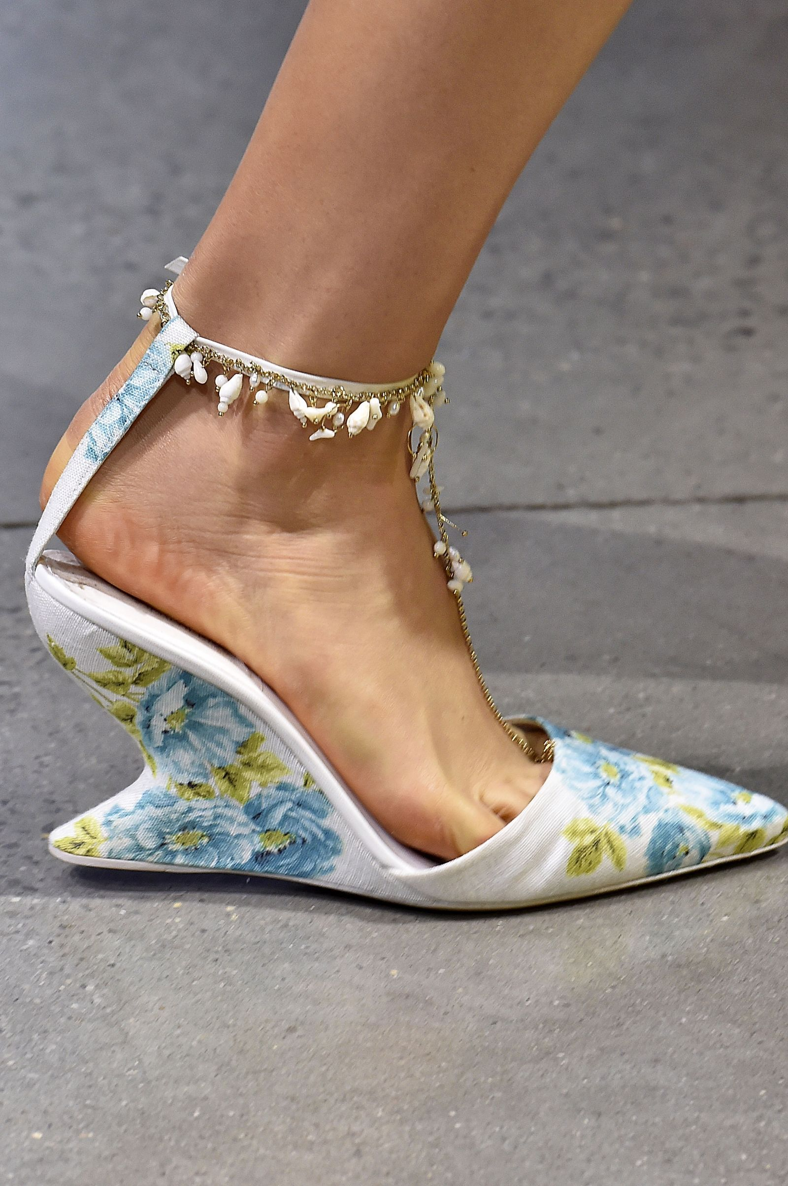 The Hottest Shoes From New York Fashion Week SS18 | Runway ...