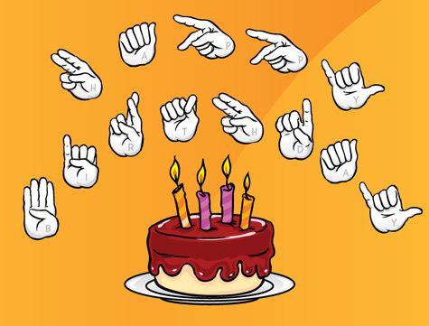 Happy Birthday In Sign Language Pictures
