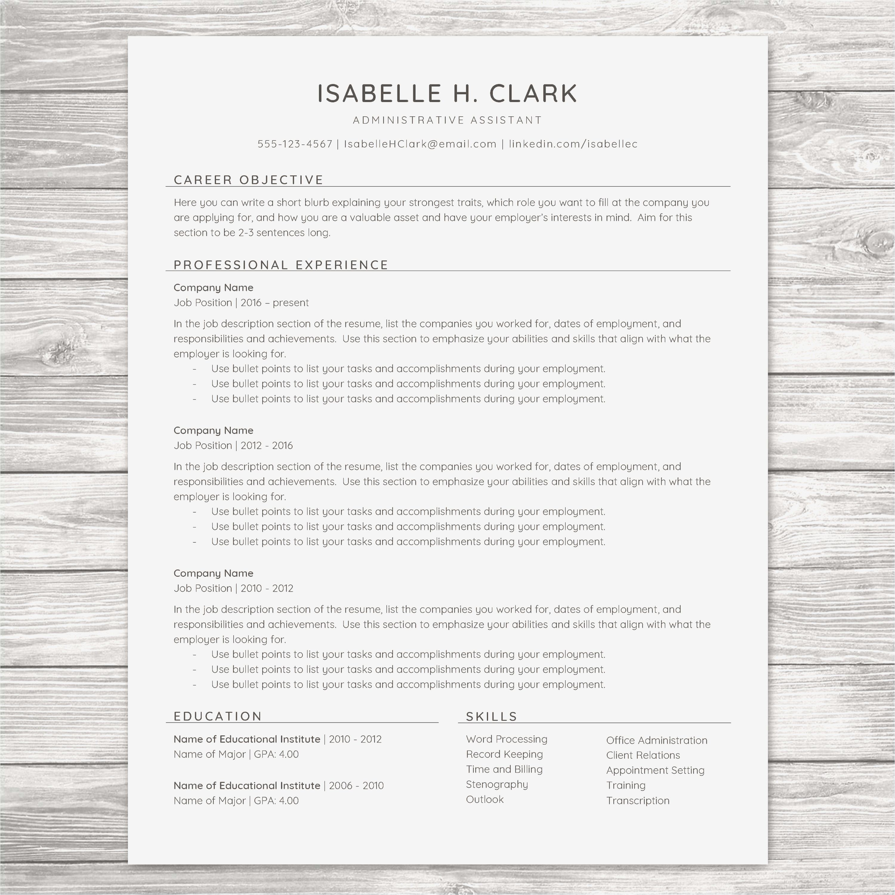 Can My Resume Be 2 Pages Inspirational Cover Page Resume New 2 Page Resume Awesome Leadershi In 2020 Resume Objective Examples Minimalist Resume Template Resume Skills