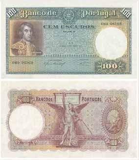 100 escudos I , 1937