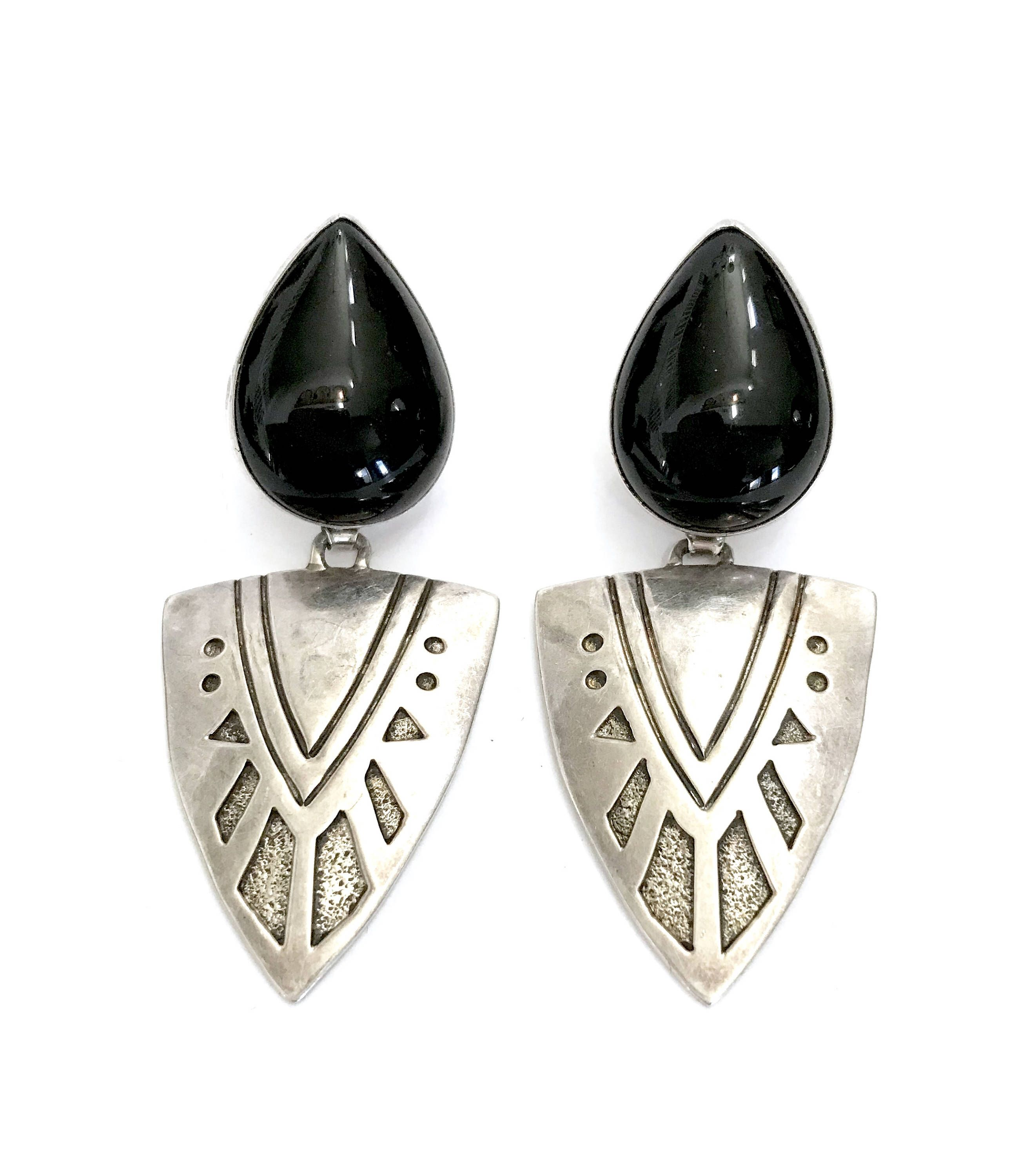 Excited to share the latest addition to my etsy shop navajo allen excited to share the latest addition to my shop navajo allen paula boyd earrings sterling silver overlay dangles tooled textured symbols buycottarizona Images