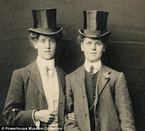 of the 1920s lesbians