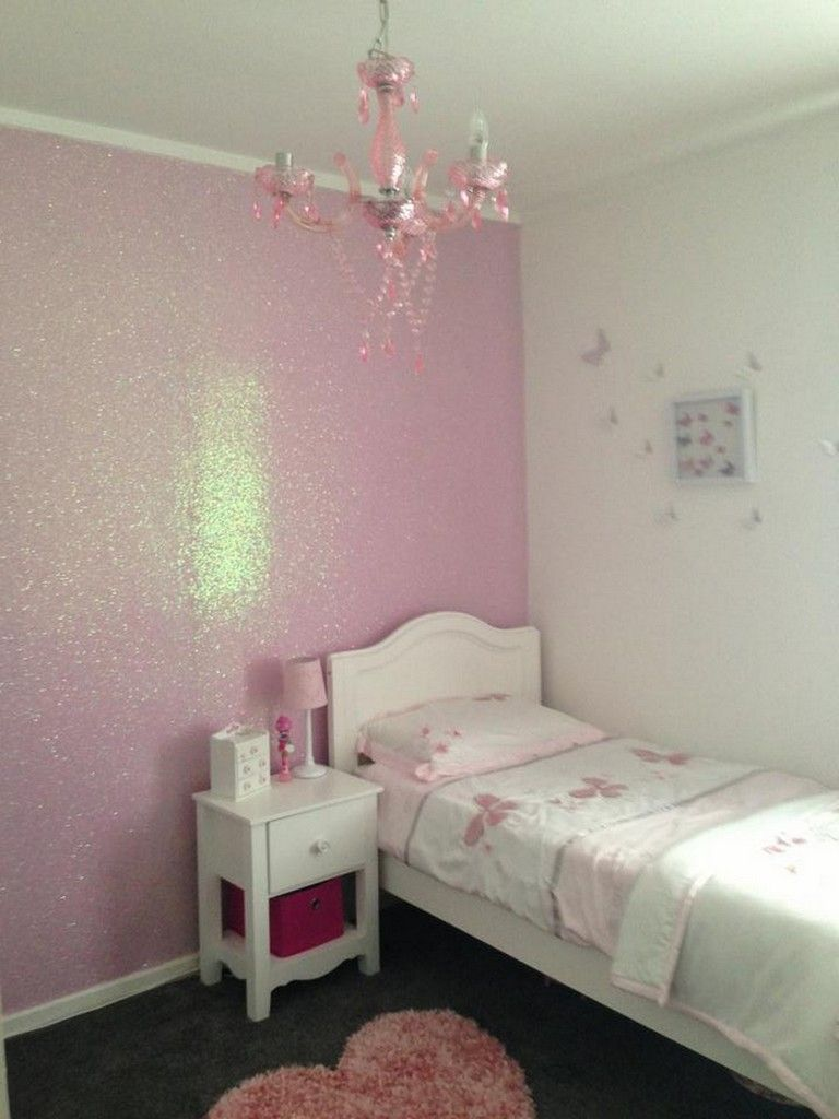 15 Amazing Glitter Wall Paint With Beautiful Different Colors Girls Room Paint Pink Walls Girls Room Glitter Room