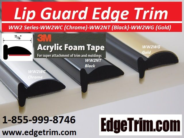 Pin By Edgetrim Com On Lip Guard Edge Trim Lips Foam Tape Fender Flares