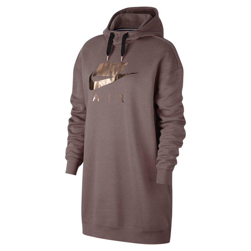 nike metallic hoodie women's
