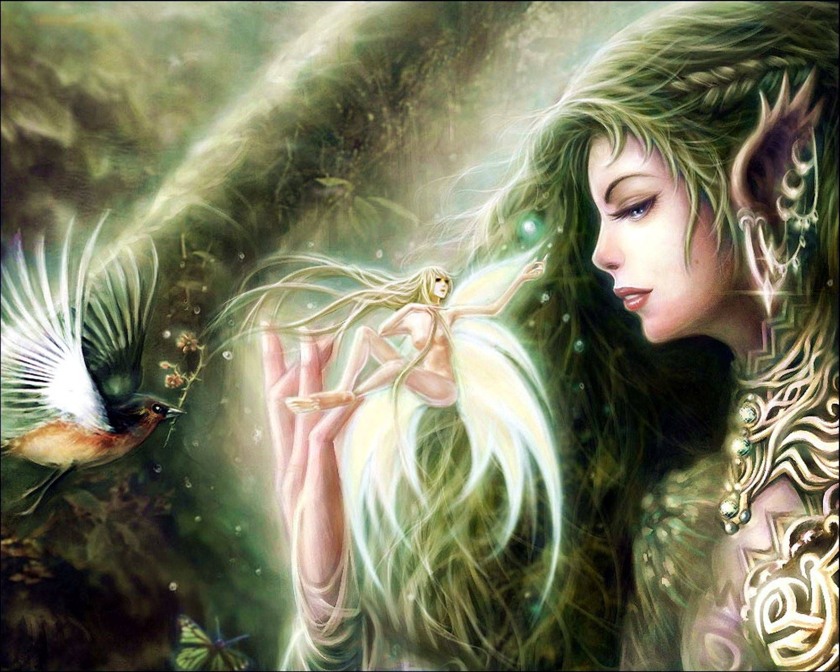 Лесные эльфы стихи