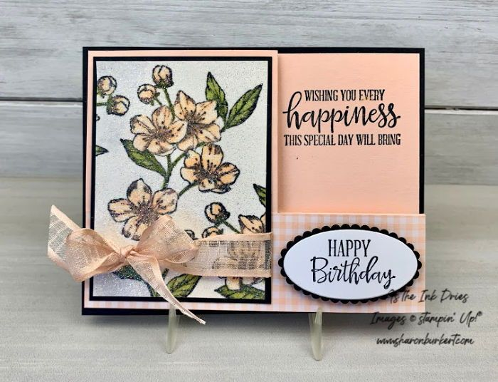 Glittery images and a fun fold for the Stampers Dozen Blog Hop