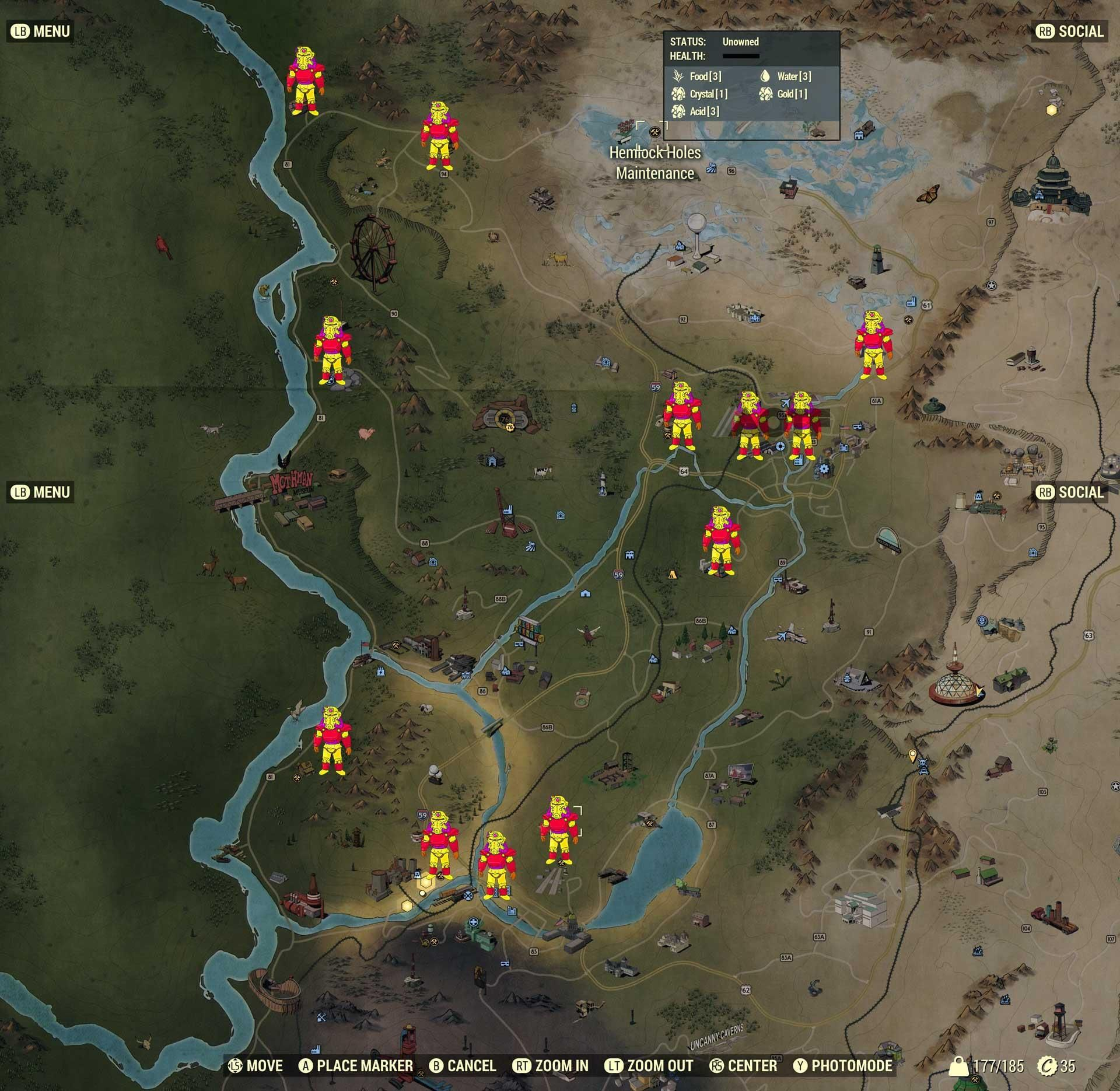 Fallout 76 - All Power Armor Locations | fallout | Fallout