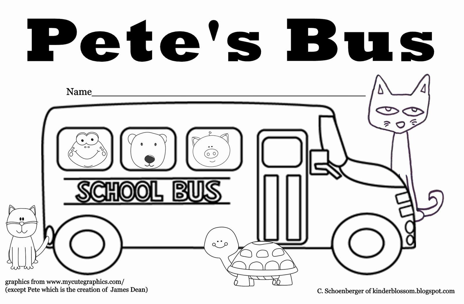 32 Pete The Cat Coloring Page In