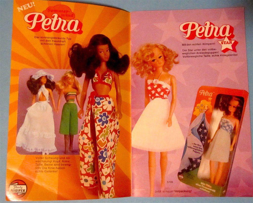 DDR Sammeln & Seltenes DDR Petra Puppe 1970er 1980er Vintage !