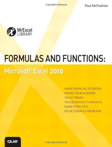 Download free Formulas and Functions Microsoft Excel 2010 (MrExcel - spreadsheet compare 2010 download