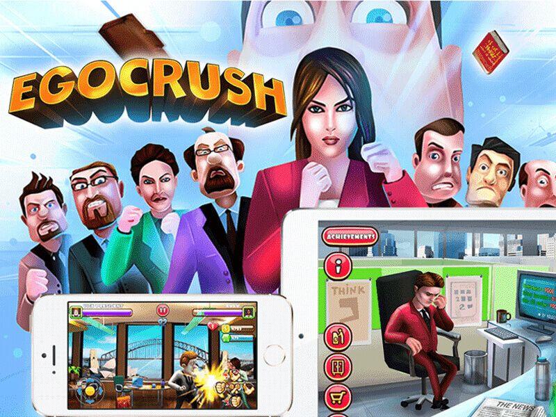 Classic Arcade Style Fighting Game Ego Crush Juego