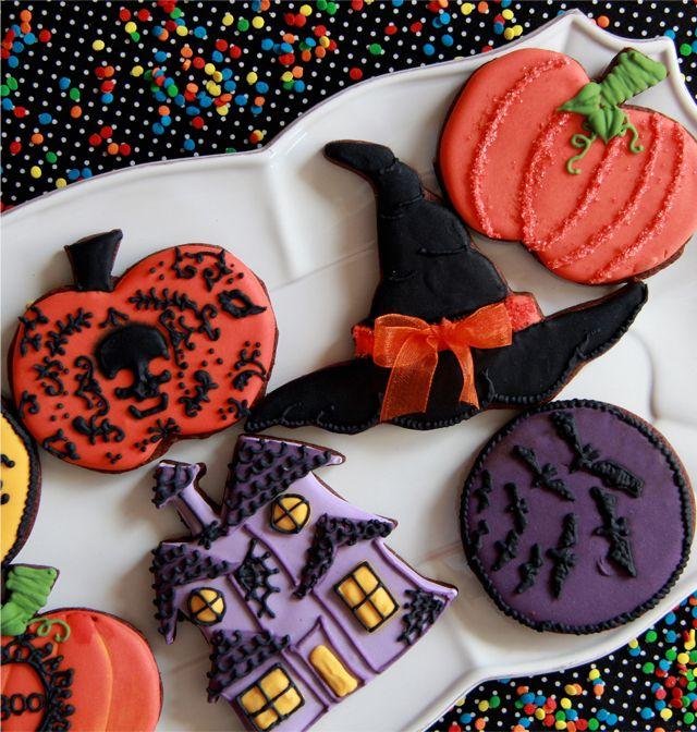 Galletas de Halloween Halloween Pinterest Galletas de