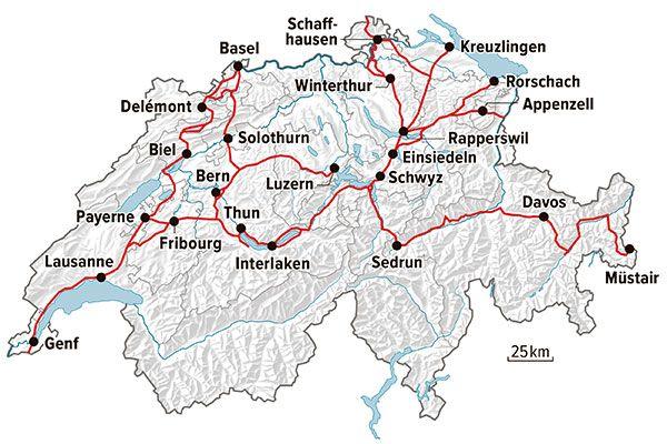 Die Pilgerei Auf Dem Jakobsweg Durch Die Schweiz Coopzeitung