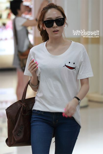 Appreciation Jessica Jung 39 S Airport Fashion Celebrity Photos Onehallyu Jessica Jung
