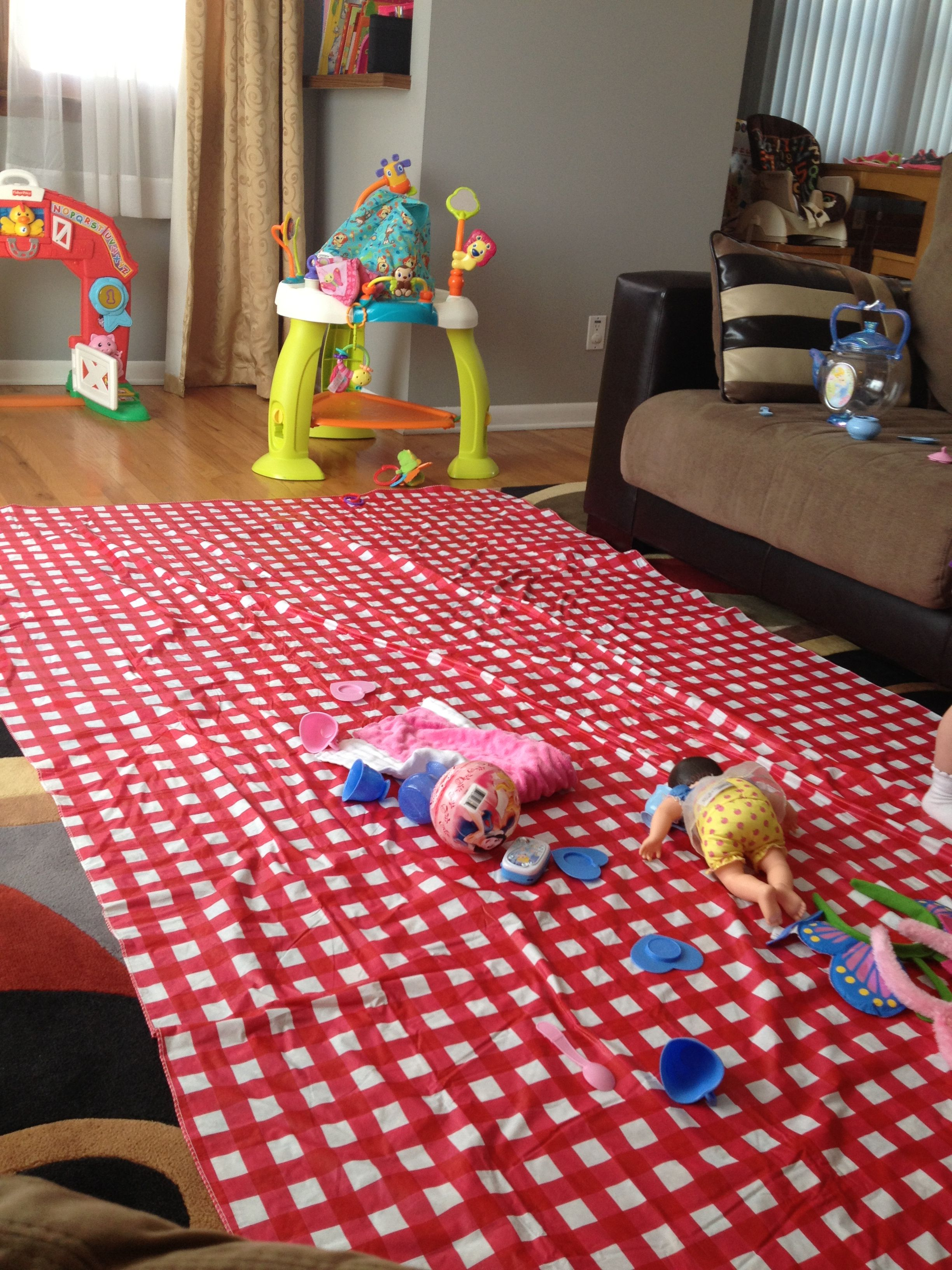 Potty Training Lay Down A Vinyl Table Cloth To Protect Your Carpet From Accidents You Could Even Sew A Few Together To Carpet Cover Baby Proofing Kids Rugs