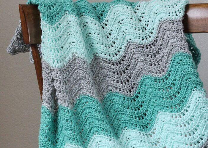 New Video: Foundation Single Crochet | Mantita bebe, Manta y Bebe