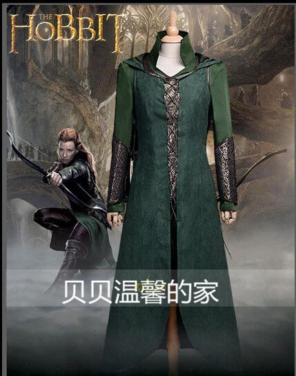 >> Click to Buy << Free Shipping Customized Movie Cosplay Costume The Hobbit Desolation of Smaug Tauriel Cosplay Costume #Affiliate