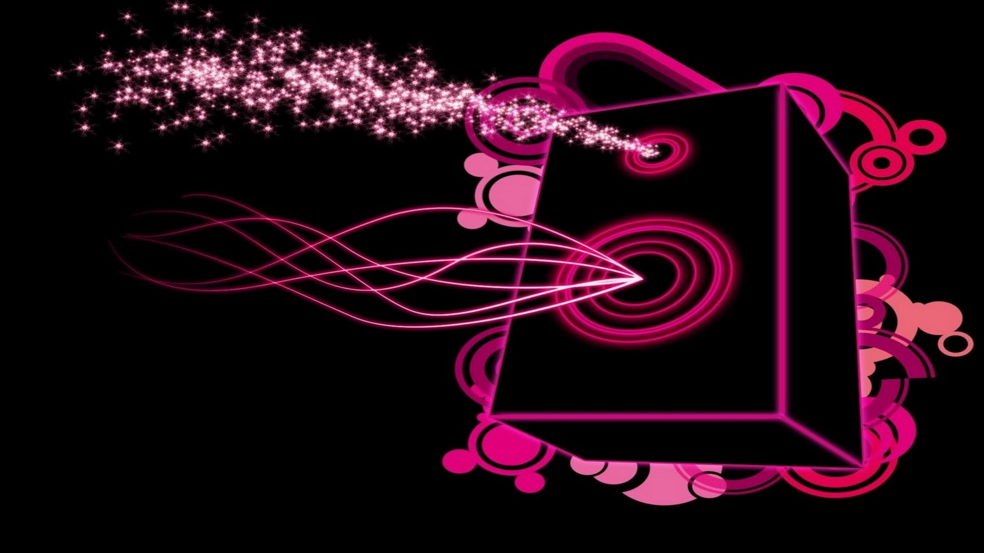 Pianosoftware Abstract Music Wallpapers Pink And Black Wallpaper Music Backgrounds Wallpaper