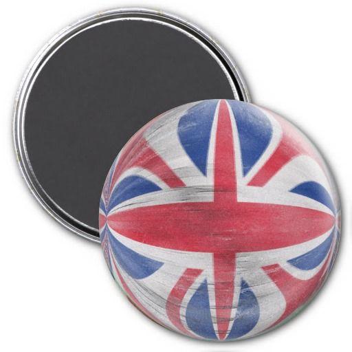 Big Save on Large 3 inch magnet - distressed Union Jack ...