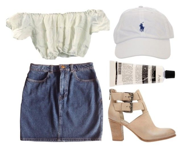 """""""Untitled #335"""" by cigerett ❤ liked on Polyvore featuring mode, American Apparel, Mint Velvet et Aesop"""