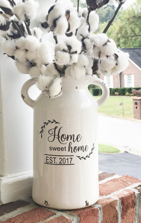 Farmhouse milk can, home decor, rustic, vintage, home