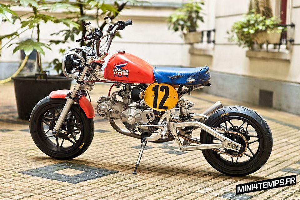 Le Honda Monkey Z50R Used d\'Hadrien   Moto   Pinterest